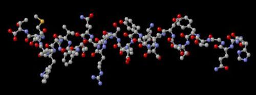 Молекулярное строение глюкагона