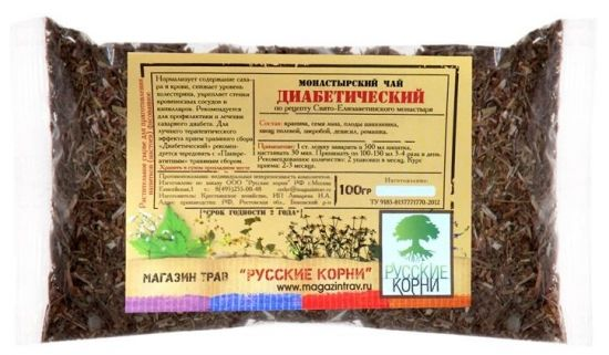 Диабетический монастырский чай