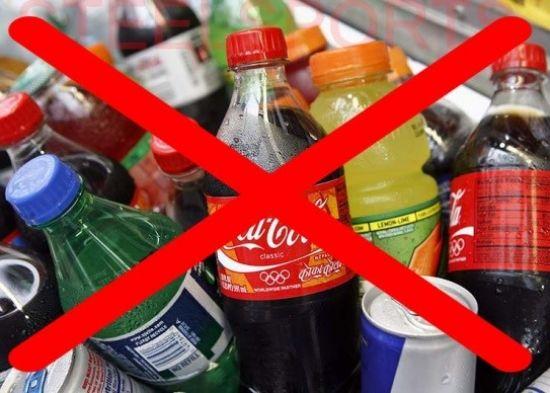 Запрет сладких газированных напитков