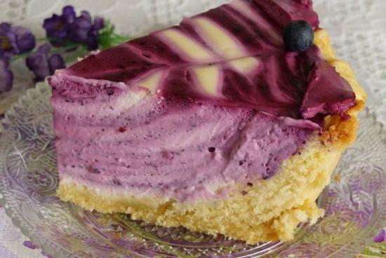 Торт Черничный блюз